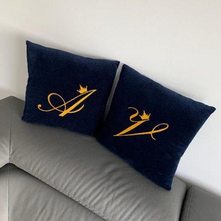 veliūrinės pagalvėlės